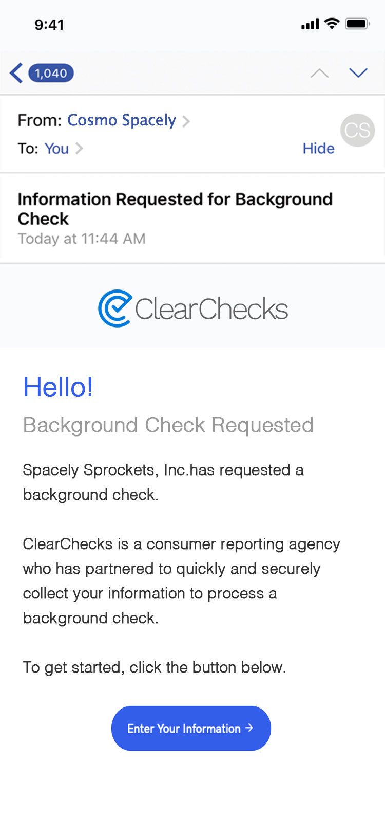 ClearChecks - Background Checks for Employers  MVR